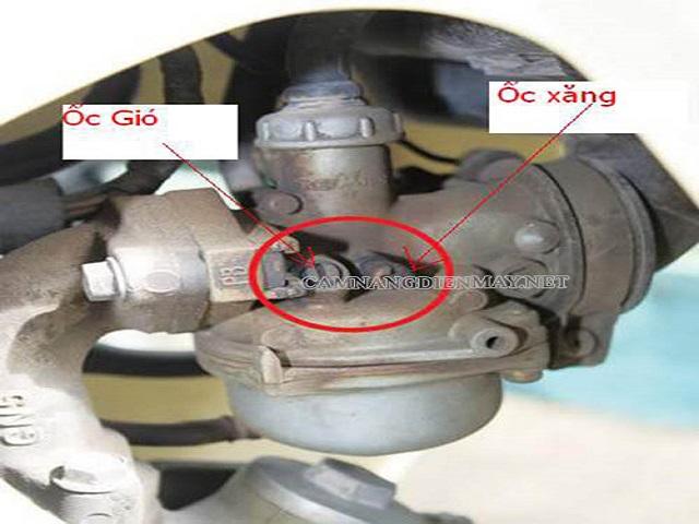 Bộ chế hòa khí bị chỉnh sai là nguyên nhân xe chạy bị ì máy