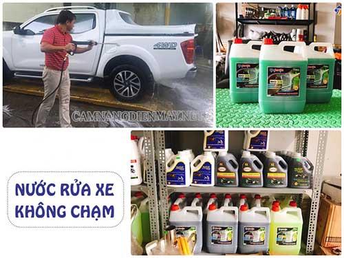 Công nghệ rửa xe ô tô không chạm