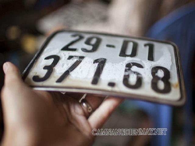 Phải làm gì khi xe máy bị mất biển số