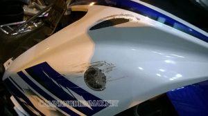 xe máy bị xước sơn