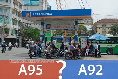 lựa chọn loại xăng phù hợp cho xe