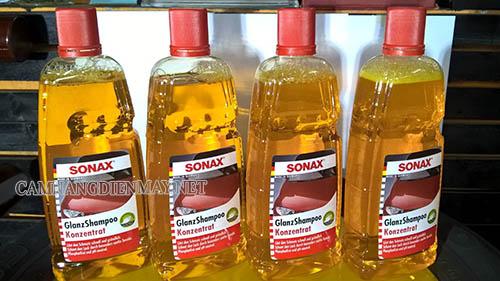 Nước rửa xe Sonax được nhiều người ưa chuộng sử dụng