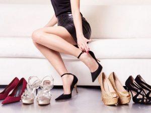 Cách làm sạch giày cao gót hiệu quả
