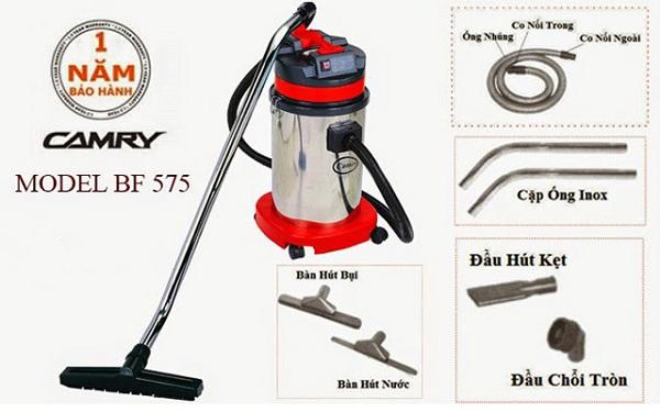 Model máy hút bụi Camry BF 575 sở hữu cho mình nhiều tính năng làm sạch nổi bật
