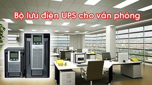 Bộ lưu điện cung cấp nguồn điện kịp thời cho máy tính