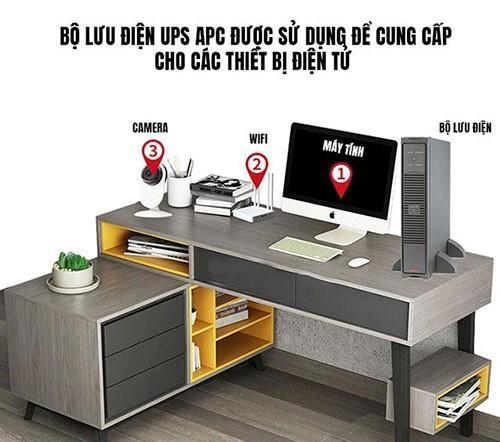 Người dùng có thể chọn bộ lưu điện ups giá rẻ cung cấp điện cho máy tính