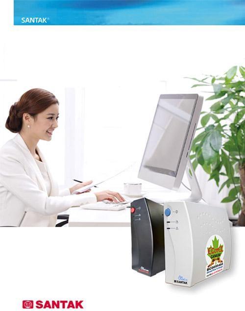 bộ lưu điện ups santak được sử dụng tại rất nhiều văn phòng