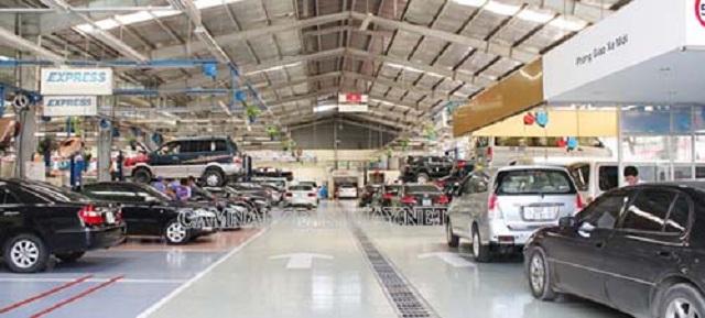 Kinh nghiệm mở gara sửa chữa ô tô