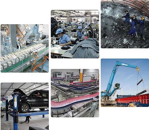 Máy nén khí 3 cấp được ứng dụng trong nhiều lĩnh vực khác nhau