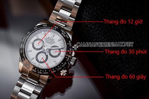 3 đồng hồ nhỏ trong đồng hồ là gì