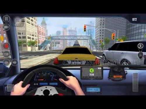 Mô phỏng các tình huống trong khi lái xe