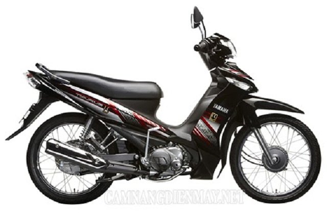 Xe Yamaha Taurus sở hữu kiểu dáng thể thao, mạnh mẽ