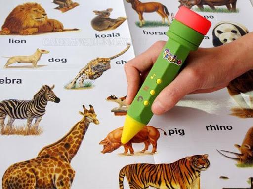 Bút chấm đọc hỗ trợ học tập