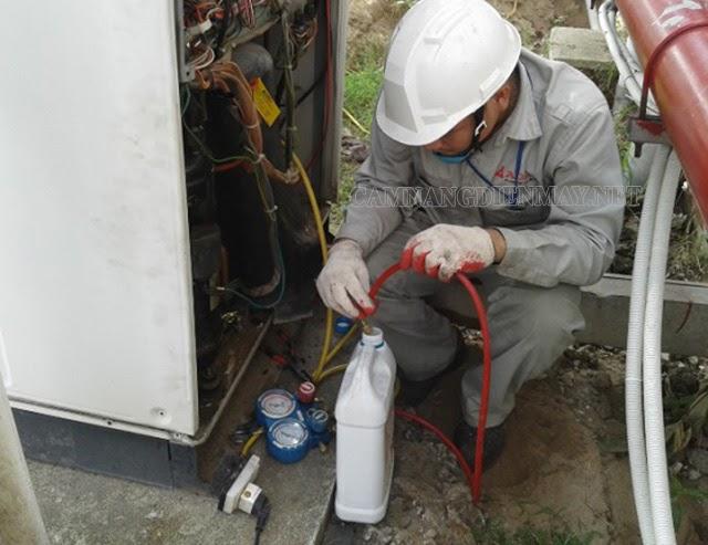Bảo dưỡng máy khí nén để kịp thời phát hiện các hỏng hóc