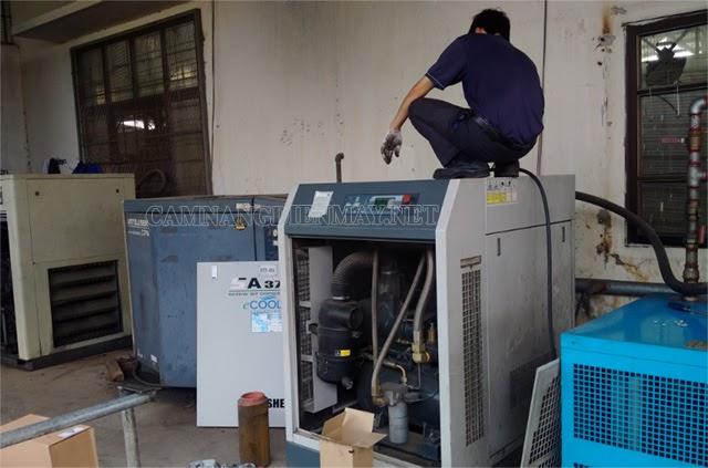 Bảo dưỡng máy nén khí hàng năm