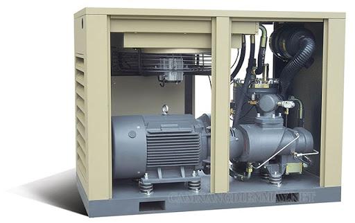 Phan loại máy nén khí có trục vít