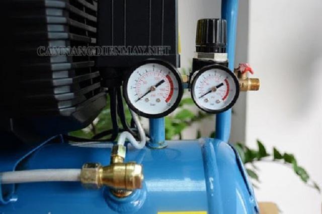 Điều chỉnh rơle của máy nén khí phù hợp
