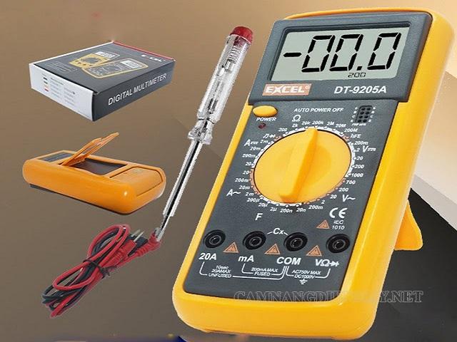 Đồng hồ đo vạn năng Excel có thiết kế nhỏ gọn, đẹp mắt