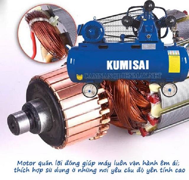 Máy nén khí Kumisai - Máy nén khí tốt
