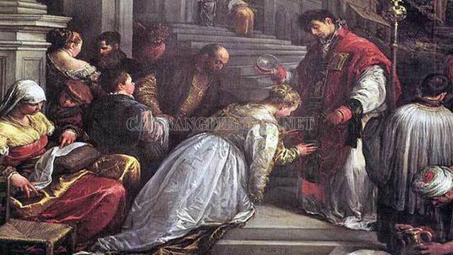Cái chết thương tâm của vị linh mục được lấy làm ngày lễ tình yêu