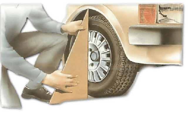 Độ chụm bánh xe tính theo góc Caster