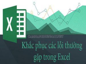 Lỗi #NAME? là một lỗi thường xảy ra trong Excel