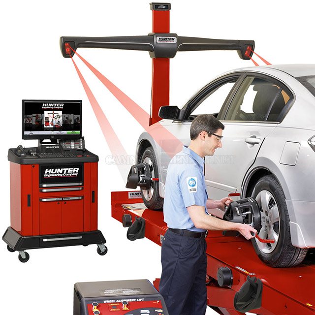 Cân chỉnh bánh xe bằng thiết bị hiện đại