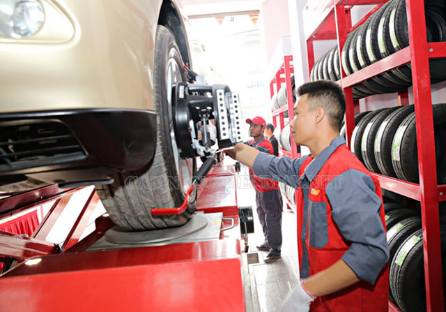 Giá cân chỉnh độ chụm bánh xe là bao nhiêu?