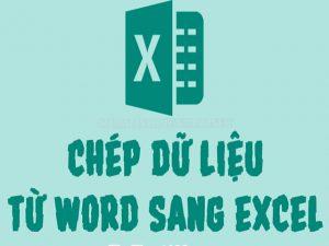 Biết cách chuyển dữ liệu từ Word sang Excel sẽ giúp ích rất nhiều khi sử dụng