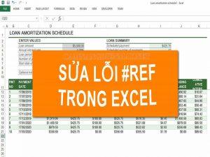 Lỗi #REF trong Excel là gì