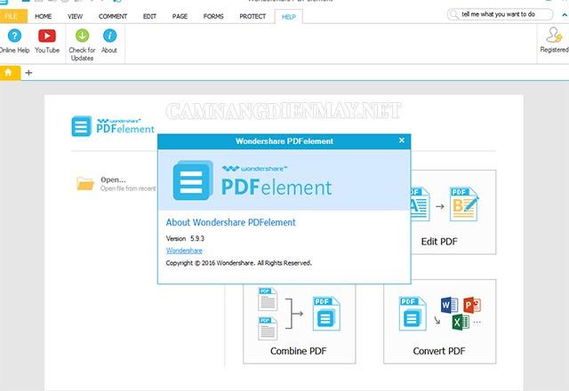 pdfekement cũng là một phần mềm được nhiều người đánh giá tốt
