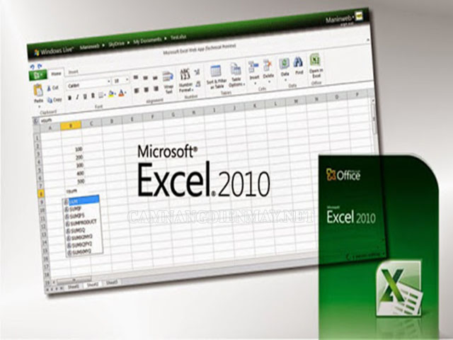 Lỗi không định dạng được số dễ gặp ở Excel 2003, 2007, 2010, 2013 và 2016