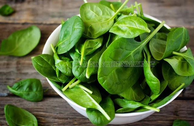 Muốn một đôi mắt đẹp, sáng nên ăn rau chân vịt thường xuyên