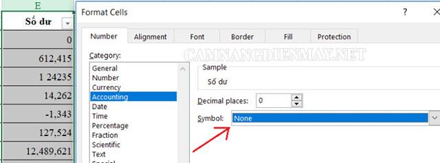 Sử dụng hàm Value sửa lỗi không định dạng số trong Excel
