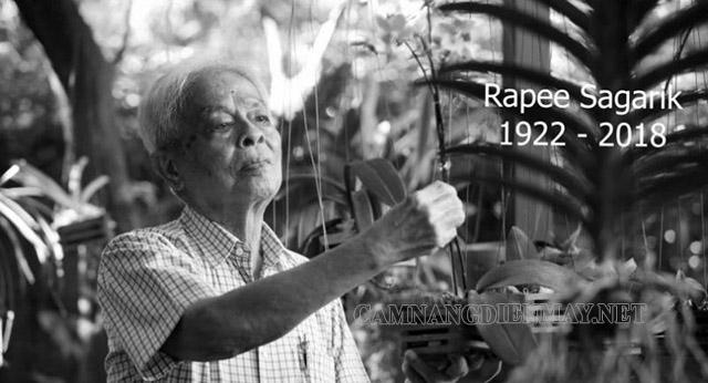 Tóm tắt tiểu sử và cuộc đời của giáo sư Rapee Sagarik
