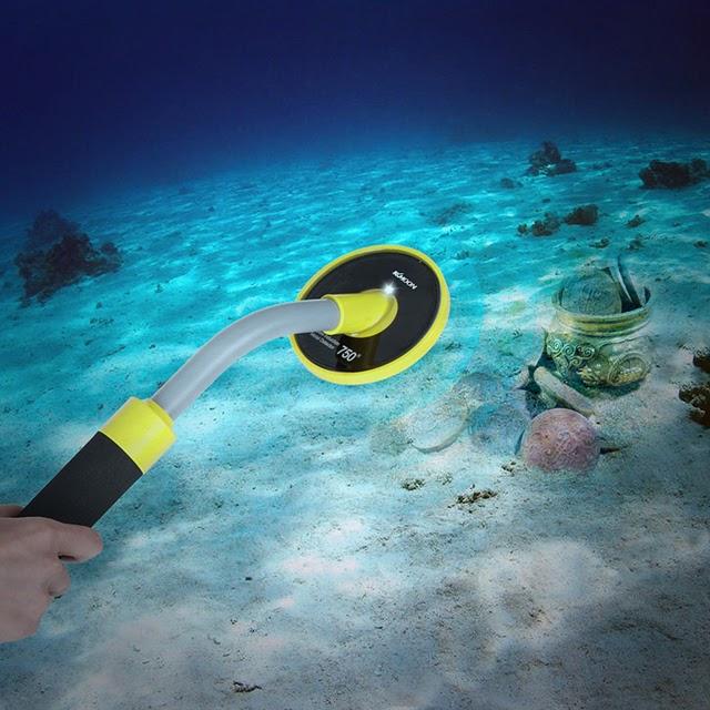 Máy dò kim loại cầm tay dưới nước