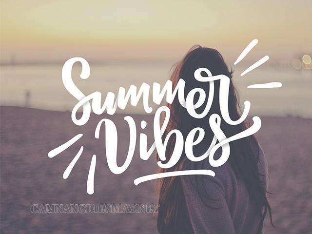 Summer vibes là cảm xúc hào hứng khi mùa hè đến
