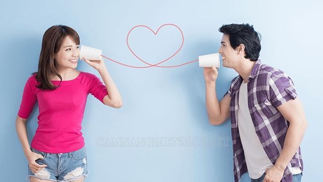 Hai người cần thực sự lắng nghe nhau và bình tĩnh trong mọi hoàn cảnh