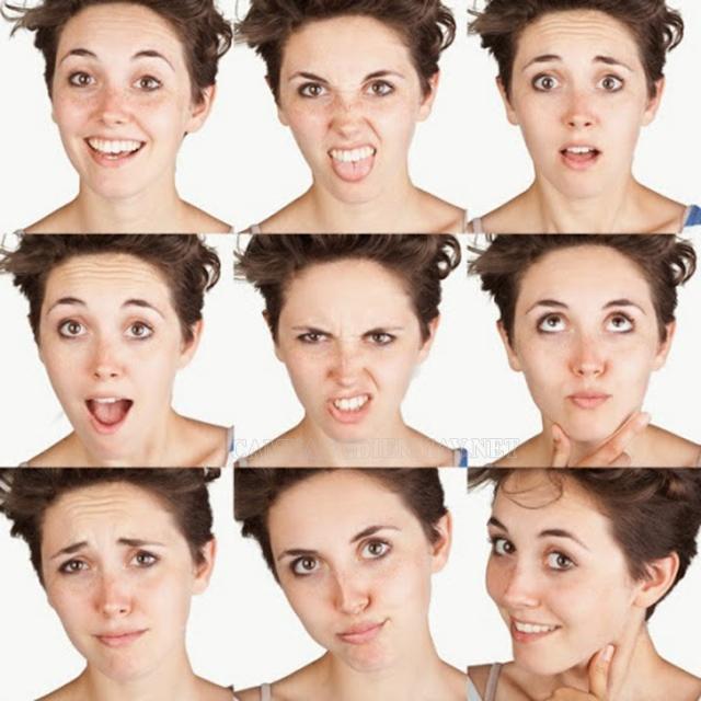 Câu cảm thán kết hợp cùng biểu cảm khuôn mặt khiến câu chuyện sinh động hơn