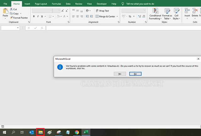 Tạo một folder bất kỳ để fix lại lỗi bắt lưu 1 tên mới