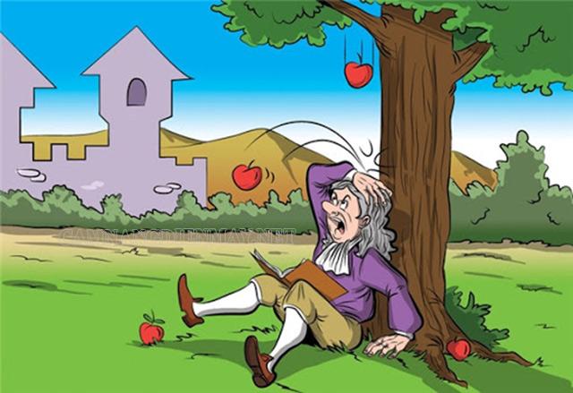 Đơn vị đo trọng lực được lấy theo tên của nhà vật lý Isaac Newton