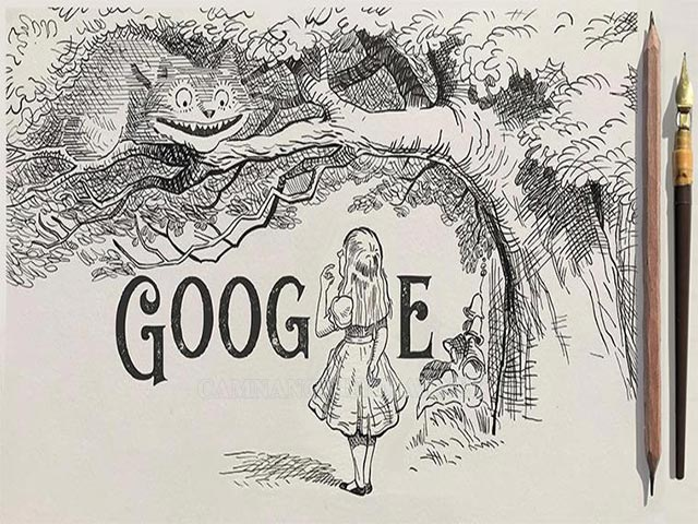 Google Doodle vinh danh hiệp sĩ John Tenniel