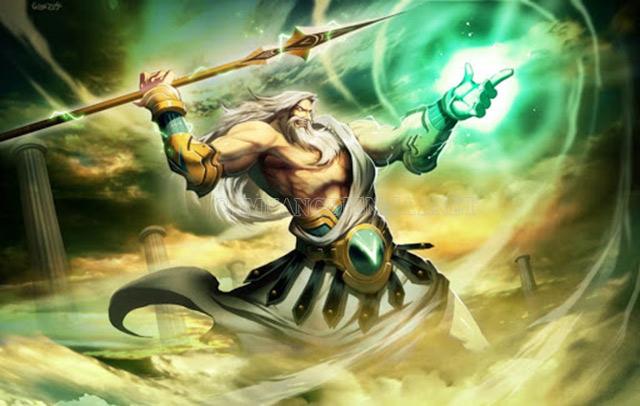 Jupiter - vị thần quyền lực nhất Olympus