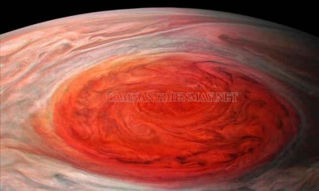 Vết đỏ lớn - siêu bão trên sao Mộc