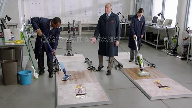 Máy chà sàn gia đình Bissell Crosswave làm sạch mọi bề mặt