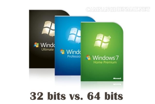 Tìm hiểu sự khác nhau giữa Windows 32bit và Windows 64bit