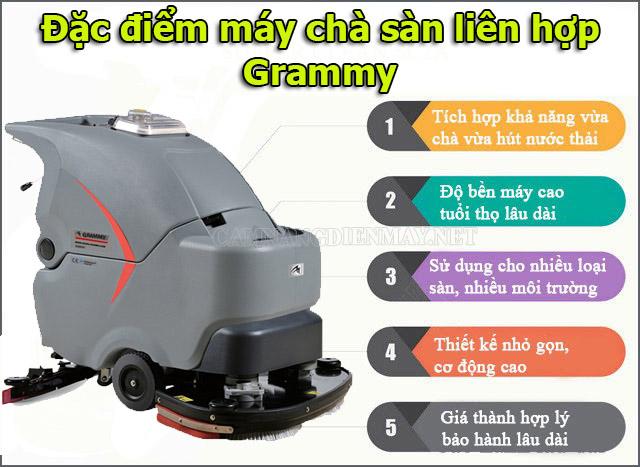 Một số đặc điểm vượt trội của máy vệ sinh sàn Grammy