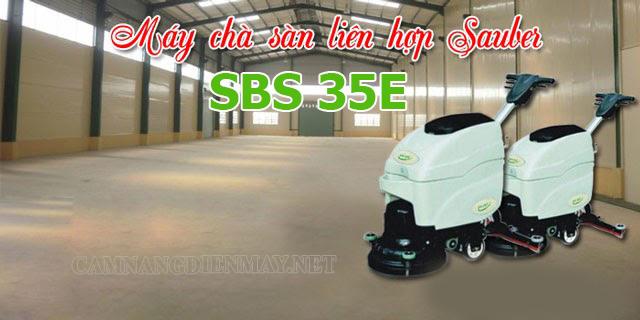 Model máy chà sàn liên hợp SBS 35E