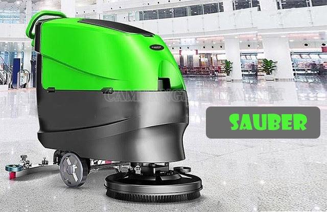 Máy chà sàn Sauber có mức giá bán hợp lý