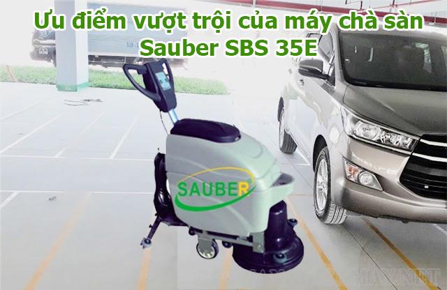 Đặc điểm của model máy SBS 35E của thương hiệu Sauber
